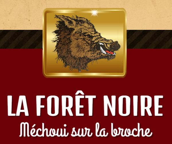 Méchoui La Forêt Noire - Méchoui sur la broche