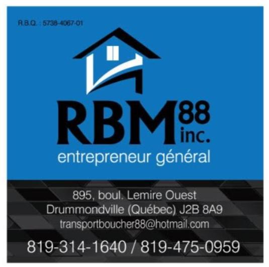Levage de Maison RBM 88 Inc.