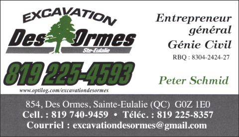 Excavation des Ormes