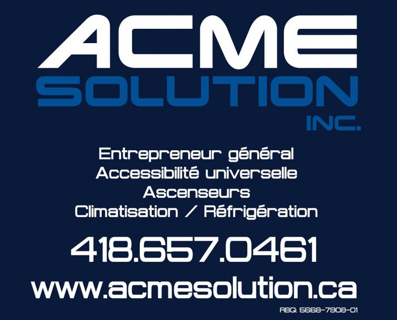 Ascenseurs ACME Solutions