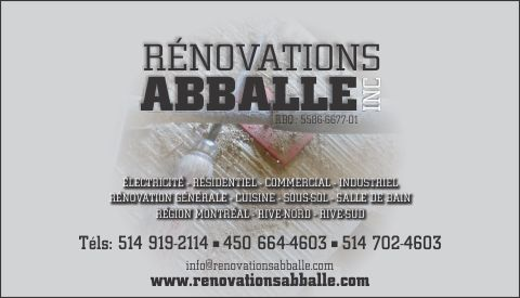 Rénovations Abballe inc