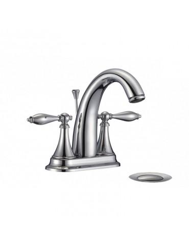 robinet de salle de bain standard