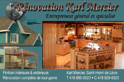 Rénovation Karl Mercier
