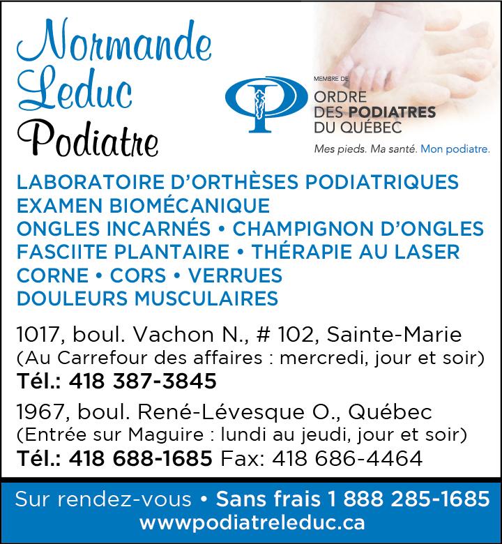 Clinique Podiatrique à Sainte-Marie